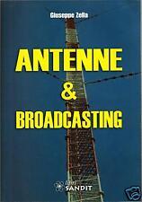 ANTENNE E BROADCASTING (libro radiotecnica,elettronica)