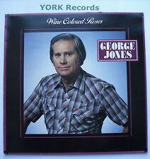 GEORGE JONES - Wine Colored Roses - Excellent Condition LP Record Epic EPC 57040