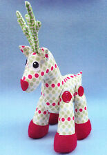 PATTERN - Rudy - fabulous reindeer softie/toy PATTERN from Melly and Me