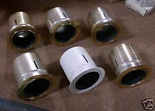 Capri Track Reflectors 5 Brass 1 White 6 for price of 1