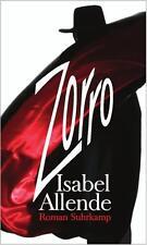 Zorro von Isabel Allende    gebunden