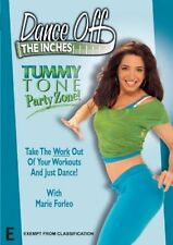 Dance Off The Inches - Tummy Tone Party Zone (DVD, 2007)