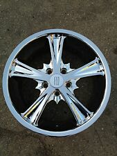 "18"" wheels chrome ECO 840 18x7.5  5lug 5x100 et 40  4 NEW WHEELS"