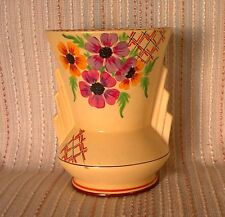Art Deco 1930s Decoro Pottery Vase, vintage, retro, Shabby Chic, rare