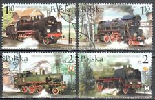 Poland 2002 Steam Locomotives - Mi 3997-4000  used