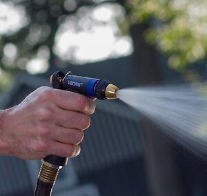 Garden Hose Nozzle Water Sprayer Viking Brass Tip Heavy Duty Spray Lawn Yard New