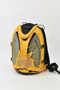 Nike Backpack Epic Hard Shell Rucksack Sports Bag Retro Yellow & Grey
