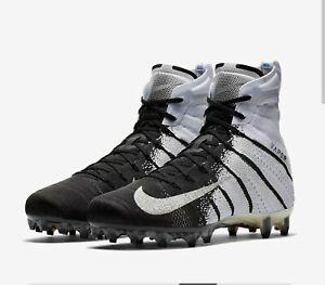 Nike Vapor Untouchable 3 Elite American Football Cleats Bone Black Silver UK 10