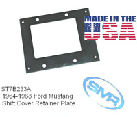 1964-1968 Mustang Shift Cover Retaining Plate Bezel Plate