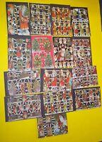 SANTA Die Cuts 15 sheets 150+ Christmas vintage Victorian style scraps diecuts