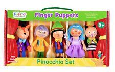 Fiesta Crafts-set di Marionette da dita Pinocchio Multicolore
