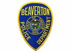 US Beaverton Oregon Police Patch