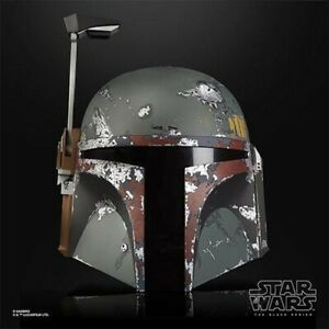 Star Wars Boba Fett Electronic Helmet The Black Series Prop Replica Mandalorian