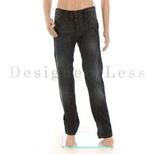 Cotton Faded Regular Classic Fit, Straight Jeans for Men