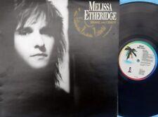 Melissa Etheridge ORIG OZ LP Brave and crazy EX '89 Island Heartland Rock