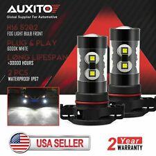 2x AUXITO 5202 100W CREE LED Fog Driving Light Bulb 6000K Xenon White 16000LM