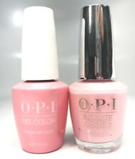 OPI GelColor Tagus In That Selfie! #L18 + Infinite Shine #L18
