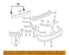TOYOTA OEM 03-13 Corolla Rear Bumper-Mount Bracket Left 5218202040