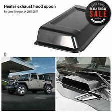 Hood Vent Cover Air Vent Scoop Accessories for Jeep Wrangler JK JKU 2007-2017