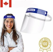 Safety Face Shield, Reusable Anti-Saliva Plastic Visors, Anti-Fog, FREE SHIPPING