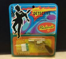 Redondo pistola giocattolo vintage detective nuova in blister