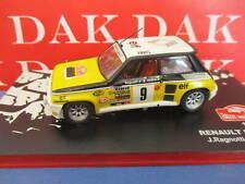 Die cast 1/43 Modellino Auto Renault 5 Turbo Rally Monte Carlo 1981 J.Ragnotti