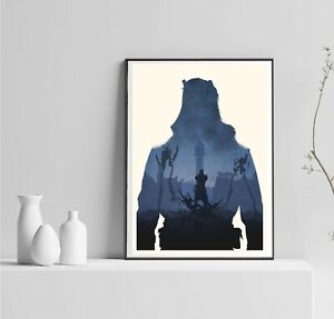 Dishonored Game Poster, Dishonored Player Gift, Dishonored Action Game, Dishonor