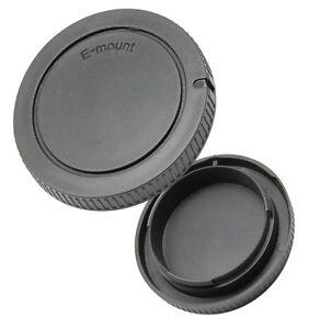 Objektivrückdeckel & Gehäusedeckel passend für Sony NEX 3 5 7 alpha E-mount