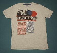 Echotone Quiet Fight for a Louder Future Film T-Shirt Austin Texas gray size M