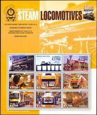 Zambia 2004 Trains/Steam Engines/Locomotives/Railway/Rail/Transport sht (n35541)