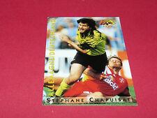 S. CHAPUISAT BUNDESLIGA BVB 09 BORUSSIA DORTMUND PANINI FOOTBALL CARD 1994-1995
