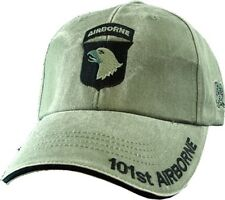 U.S. Army Hat / 101st Airborne Division OD Green Baseball Cap 5625