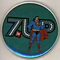"1978 7up / Superman  3""  Pinback Button"