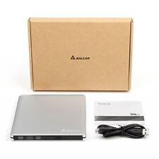 USB3.0 DVD RW Laufwerk Ultra slim Aluminium Externer DVD/CD Brenner Super Multi