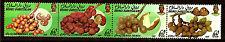 BRUNEI Tira de 4 sellos nuevos : fruits exóticos 52m4