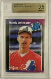 1989 Donruss #42 RANDY JOHNSON RC - BGS 9.5 MINT (9.5, 9.5, 9.5, 9)