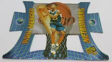 1997 NETBURNERS PRESS PASS RON MERCER #NB2 KENTUCKY BASKETBALL CARD