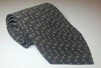"Giorgio Armani Men's Short Wide Silk Necktie Brown 55"" x 3.875"""