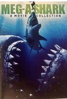 Meg-A-Shark (DVD) 8-Movie Collection & Mega Shark vs Octopus DVD & Mega Piranha