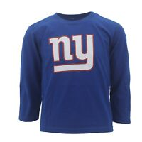New York Giants Youth Kids Size Long Sleeve shirt NFL Official New With Tags