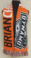 MLS Houston Dynamo Soccer Scarf - Brian Ching -HOUSE THAT CHING BUILT
