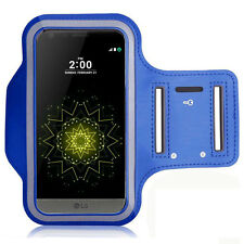 Accessory Case Cover Wallet Sport Armband BLUE For Seri LG