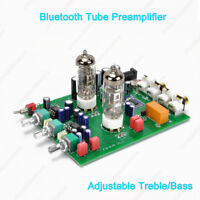 6AH6 6AN5 Tube Preamplifier Bluetooth Wireless Audio Player 3.5mm Headphone Out