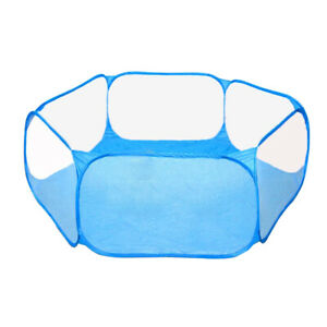 Animal Playpen Foldable Pet Cage Indoor/Outdoor Use for Kitten Guinea Pig Rabbit