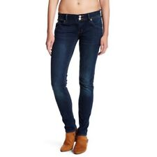 Hudson Jean Women's  Collin Flap Skinny Dark Mudra Wash Size 25 $189