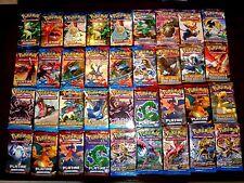 Lot de 36 BOOSTERS NEUFS cartes POKEMON 8 Séries Représentées En mélange