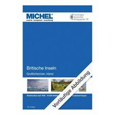 Catalogue de cotation Michel timbres des iles britanniques 2020-2021.