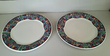 Set of 2 Gibson Coca Cola Dinner Plates