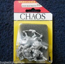 1990 Marauder MM93 Chaos Beastmaster with Hounds Warhammer War Dog Handler MIB
