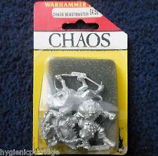 1990 marauder MM93 chaos beastmaster avec hounds warhammer guerre dog handler mib